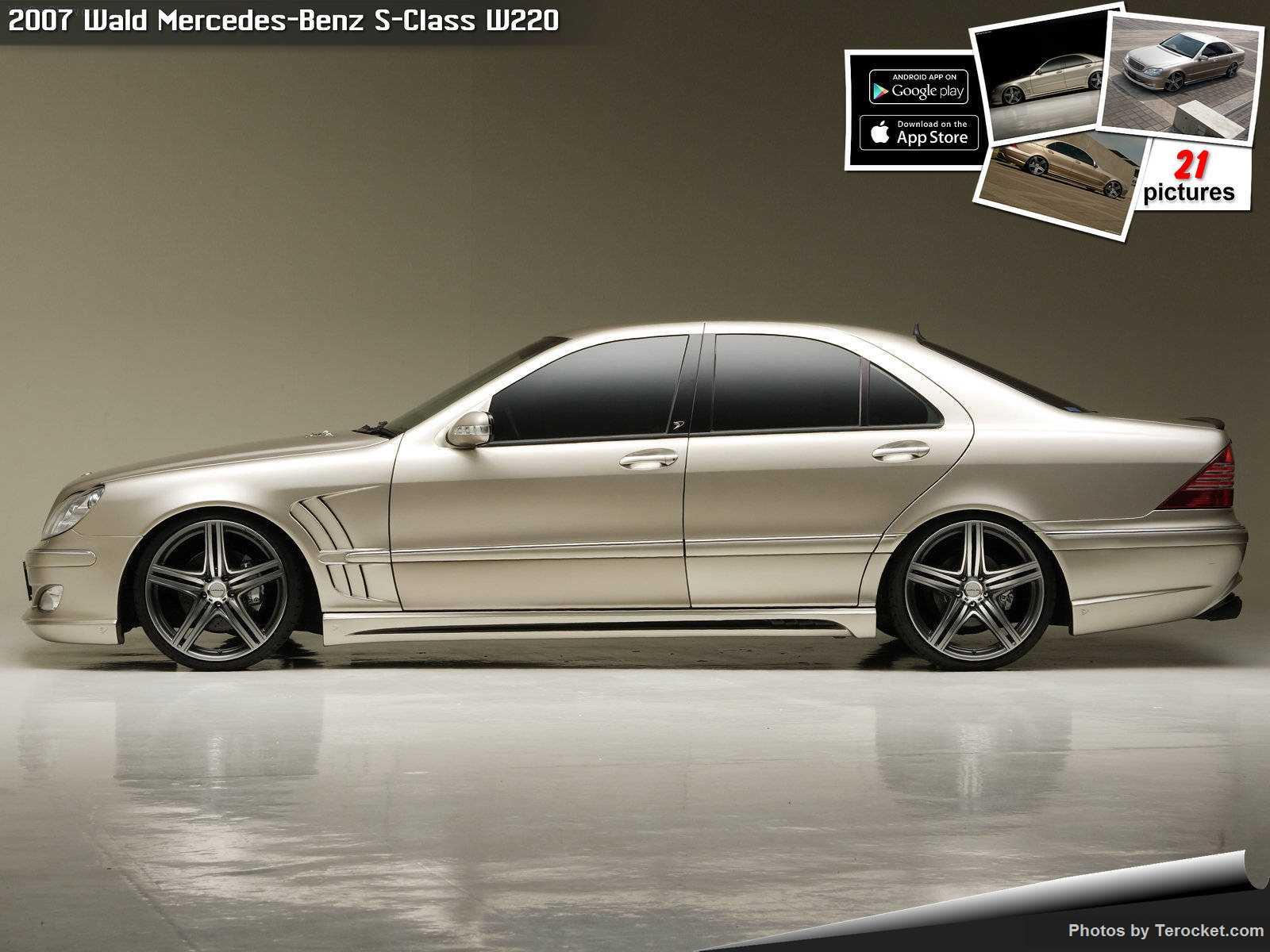 Hình ảnh xe độ Wald Mercedes-Benz S-Class W220 2007 & nội ngoại thất