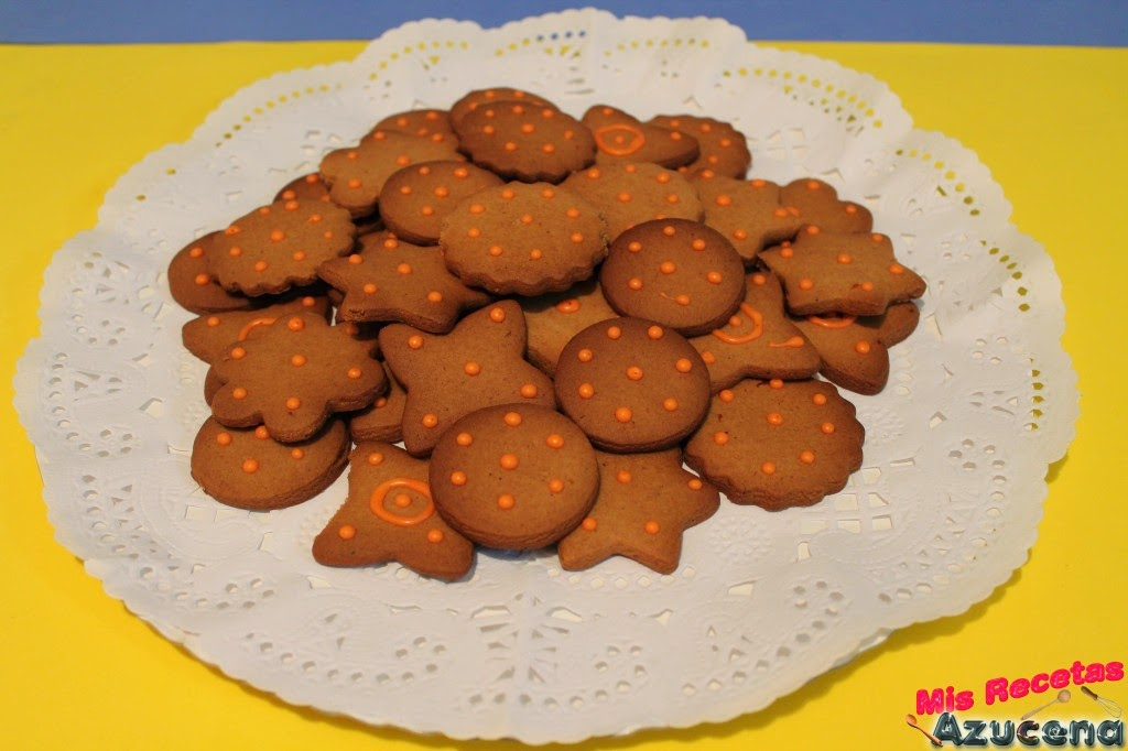 Galletas de naranja.