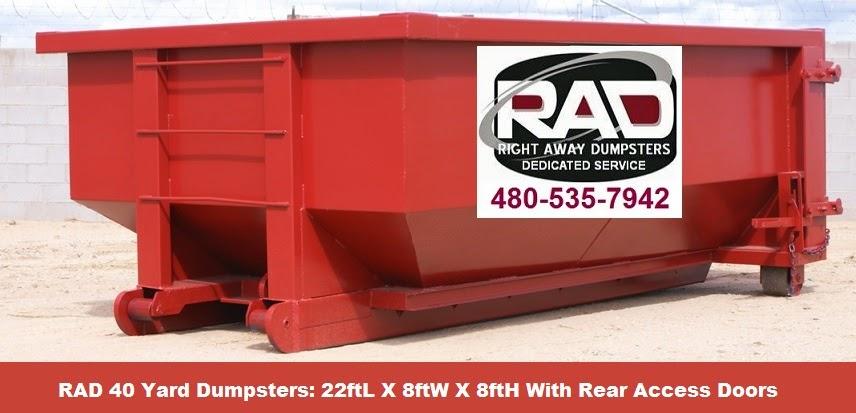 Rolloff Dumpsters Rentals In Tucson AZ