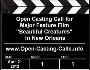Beautiful Creatures Open Casting Call