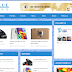 TP Blue Mag Responsive Blogger Template