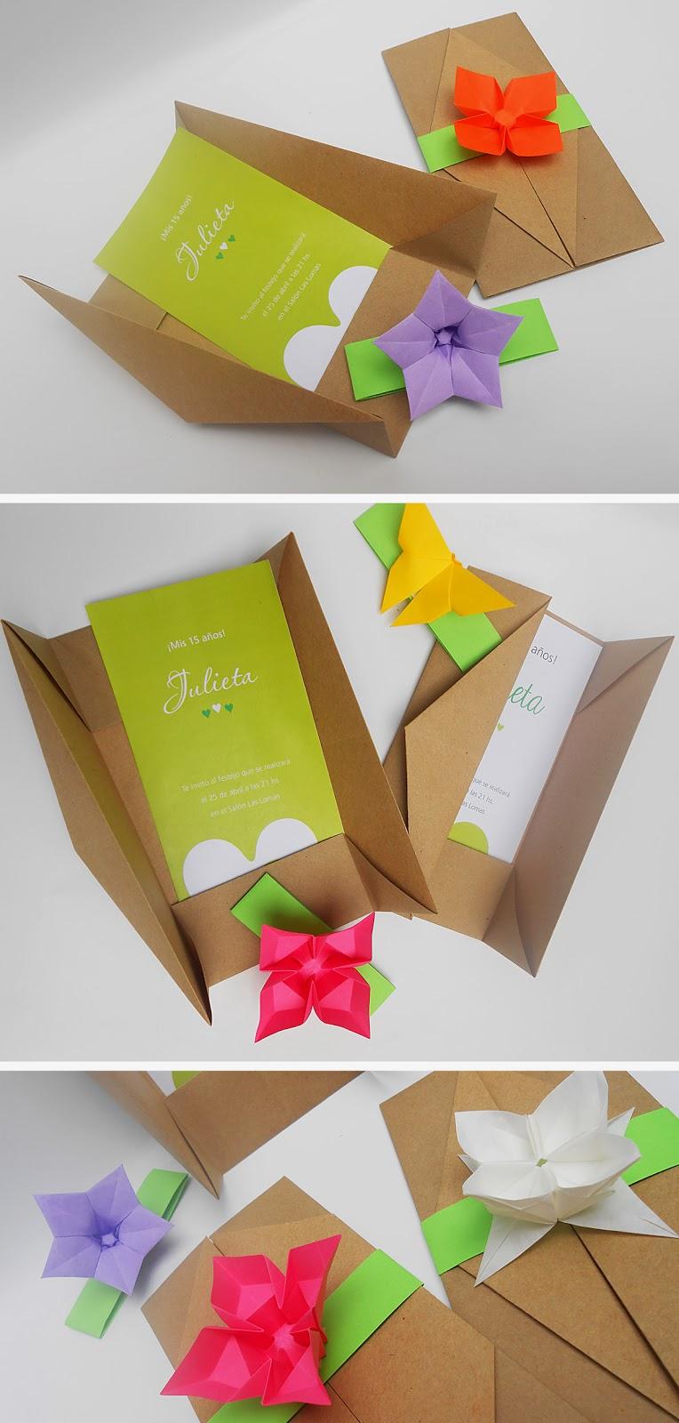 Mas origami sobres en origami 2 - Origami para todos ...