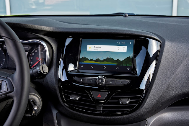 Android Auto Dashboard Look & Feel