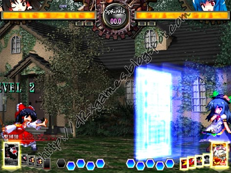 Free Download Games - Touhou Hisoutensoku