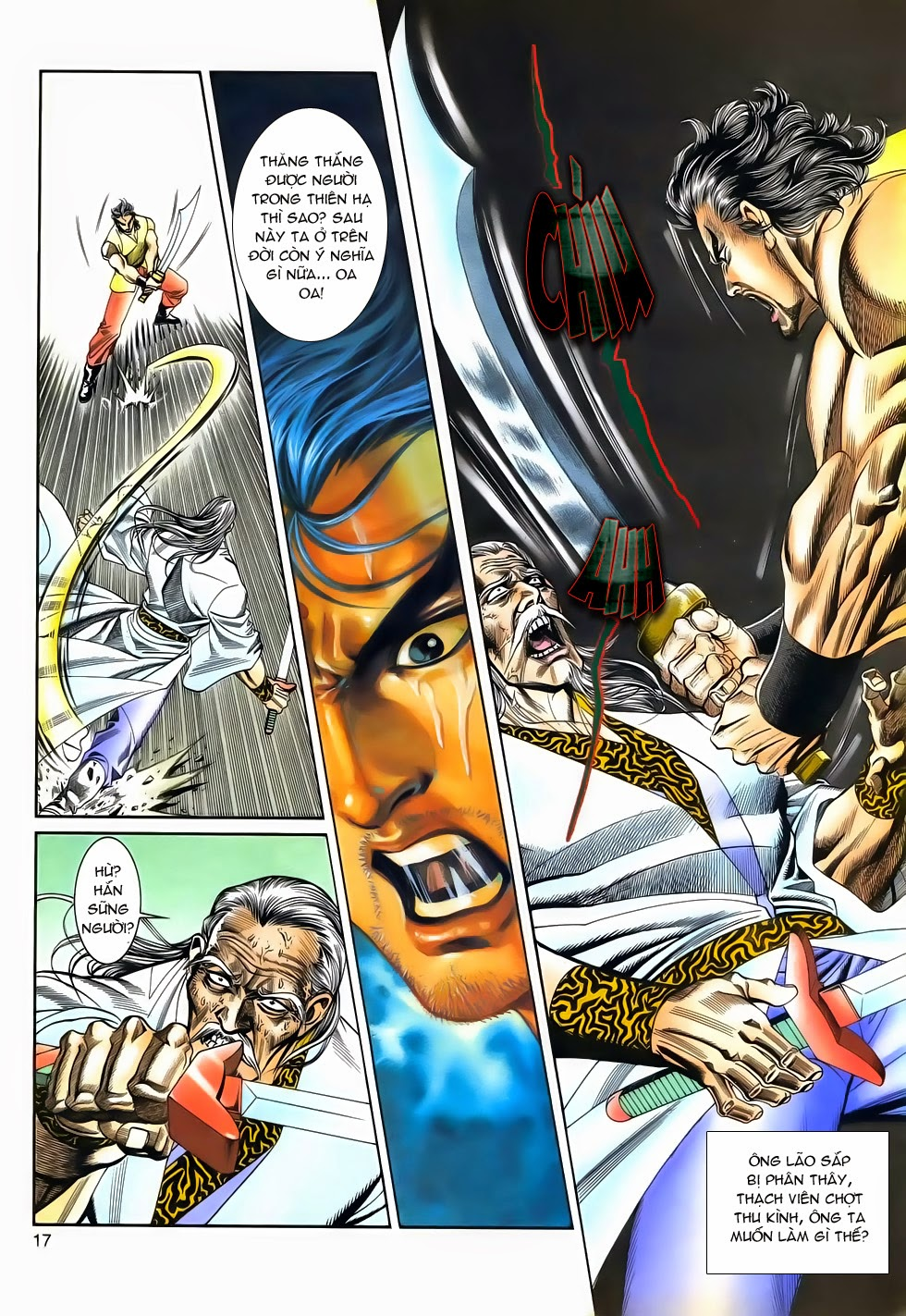 Long Hổ Phong Bạo chap 4 - Trang 16