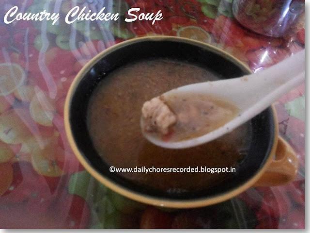 Traditional Chicken Soup | Kozhi Rasam