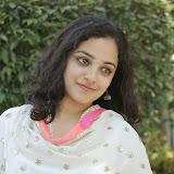 Nitya meenon Latest Photo Gallery in Salwar Kameez at New Movie Opening 49
