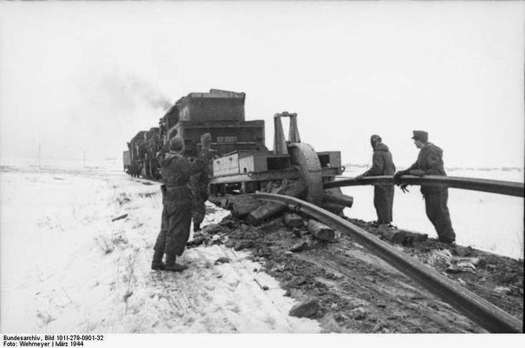 Schienenwolf train track rail destroyer Rail Wolf worldwartwo.filminspector.com