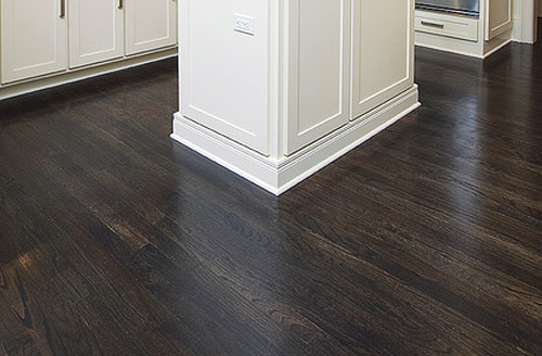 Dark Hardwood Floors ~ Diy homemade hardwood floor polish vintage romance style