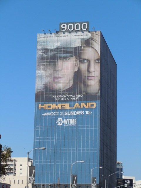 Giant Homeland billboard