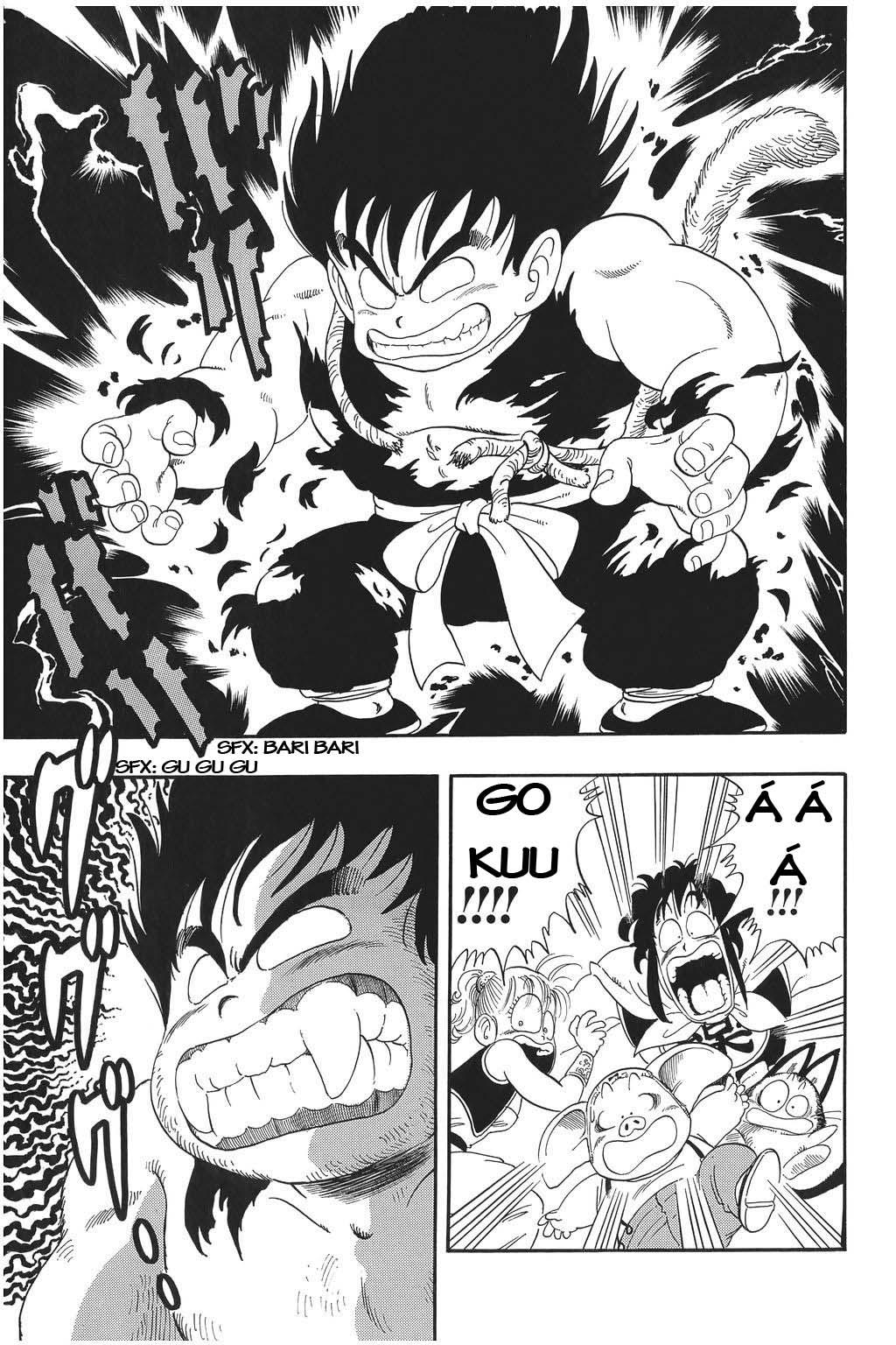 xem truyen moi - Dragon Ball Bản Vip - Bản Đẹp Nguyên Gốc Chap 21