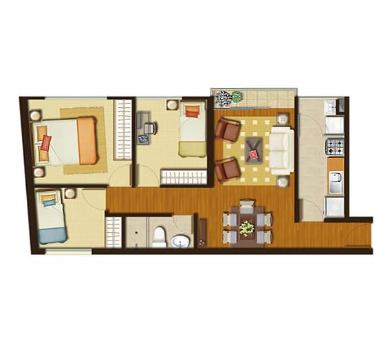 Pagina personal for Modelos de apartamentos modernos y pequenos