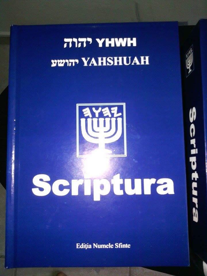 Scriptura Editia a doua