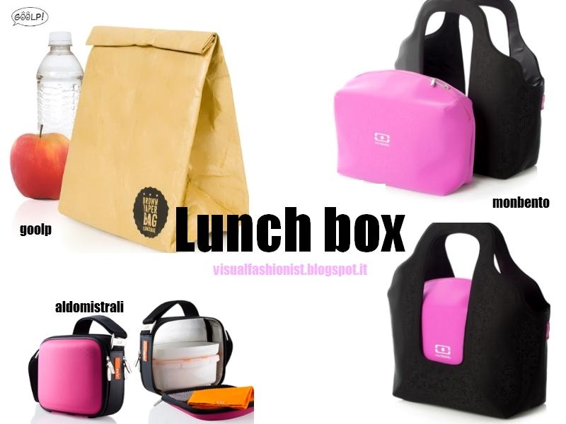 Visual Fashionist: Lunch bag E la borsa porta pranzo ...