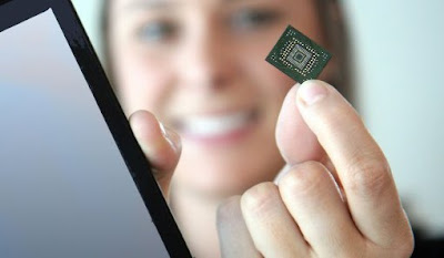 World's Smallest 64Gb NAND Flash Memory
