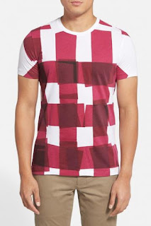 Burberry Brit 'Colville' Graphic Check T-Shirt
