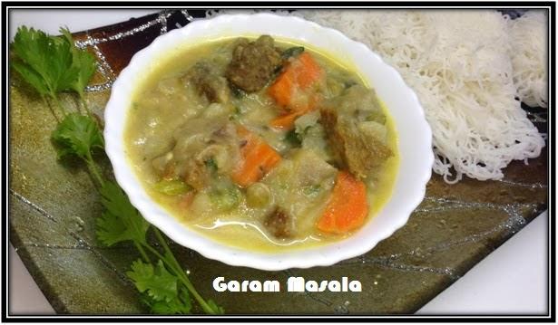 Garam Masala: Kerala Beef Stew / Beef in rich Coconut Gravy