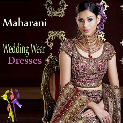 Maharani Exclusive Wedding Wear Dresses 2015