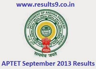 APTET September 2013 Results