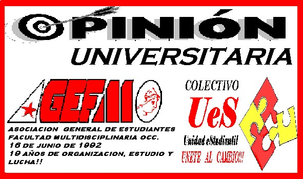 UES/AGEFMO/OPINION UNIVERSITARIA