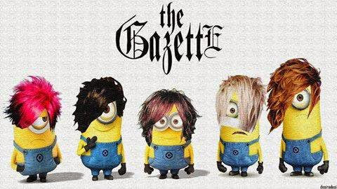 Minion's Banda The Gazette