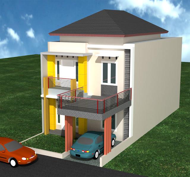 Gambar rumah minimalis type 36 2 lantai