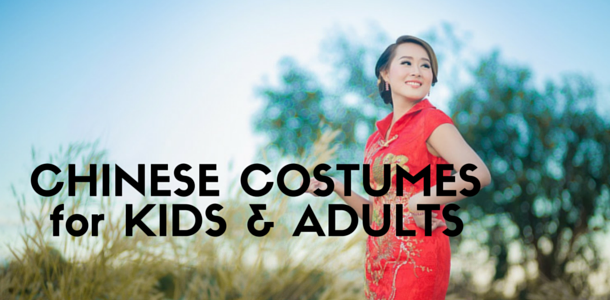 Chinese Costume for Kids and Adults