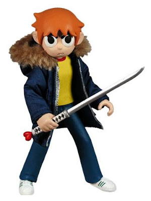 San Diego Comic-Con 2011 Exclusive Scott Pilgrim 6 Inch Action Figure Variant by Mezco Toyz