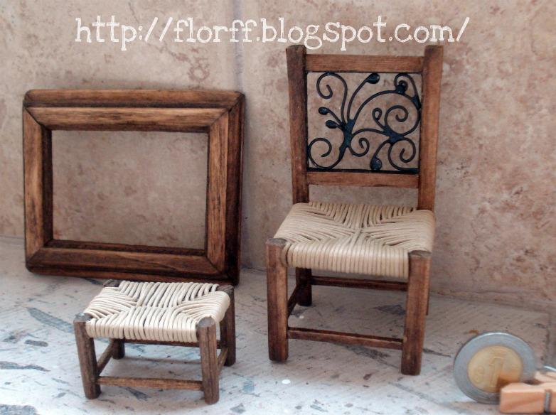 Flor ff silla para el tocador descansa pies para el - Sillas para tocador ...
