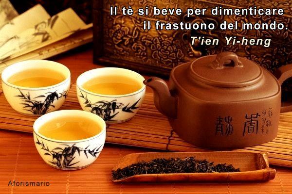 Eccezionale Aforismario®: Tè - 110 frasi e citazioni sul The o Tea IY78