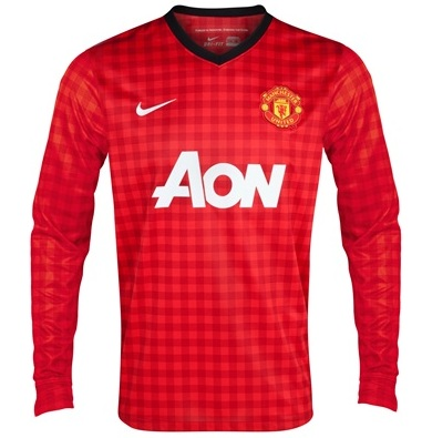 Manchester United New Home Jersey 2012/13