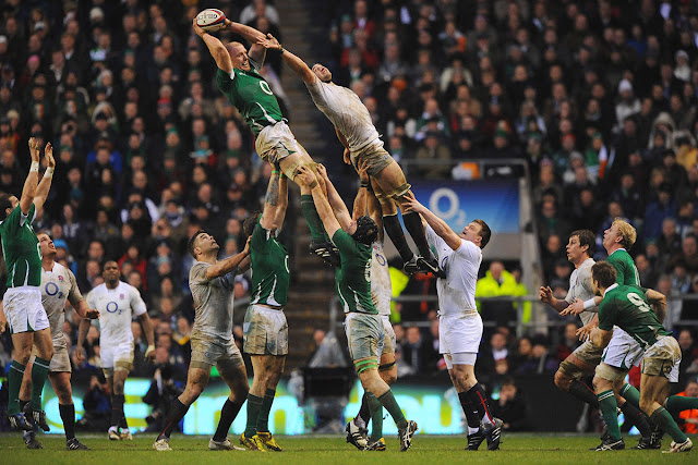 England vs Ireland rugby