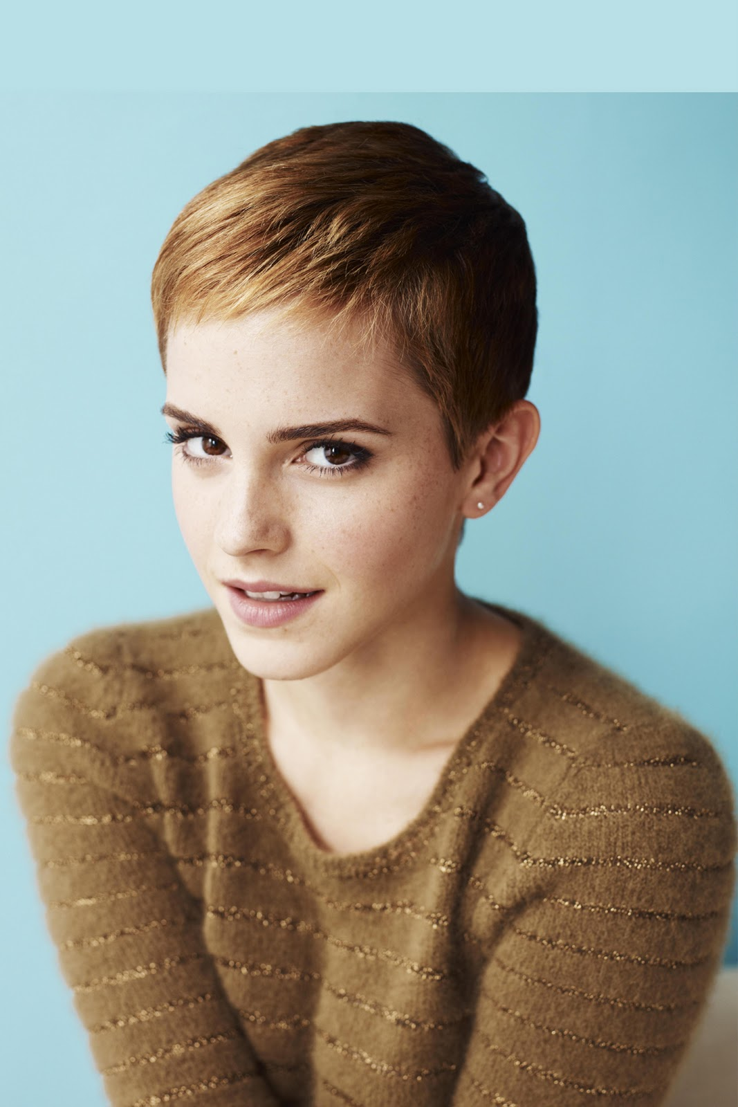 Emma Watson With A New Piece Would Like To Experiment With Facial