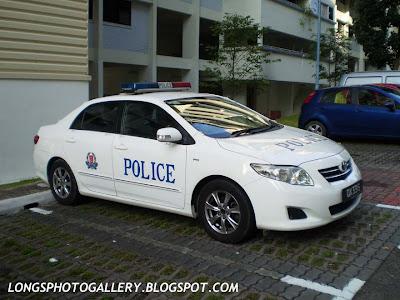 Singapore Toyota Corolla Altis Police Car