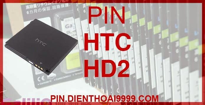 Pin HTC-HD2 - Pin Galilio HTC HD2 dung lượng cao 1500mah - Giá 200k - Bảo hành: 6 tháng  - Pin tương thích với điện thoại HTC LEO/ HTC HD2/  HTC Touch Pro3/ HTC Obsession/ T8585/ T8588  Thông số kĩ thuật: - Pin HTC-HD2 1500 mAh được thiết kế kiểu dáng và kích thước y như pin nguyên bản theo máy, Pin tiêu chuẩn, chất lượng như pin theo máy. - Kích thước:  - Dung lượng: 1500mAh - Điện thế: 3.7V - Công nghệ: Pin Li-ion Battery