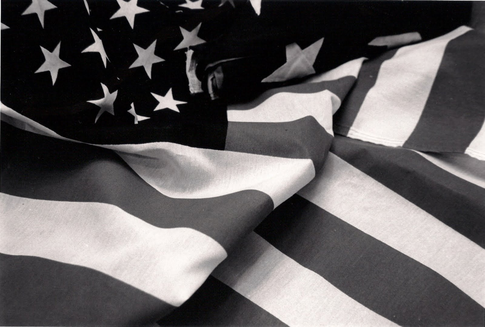 Creatively Re-designed: American Flag Black and White ...