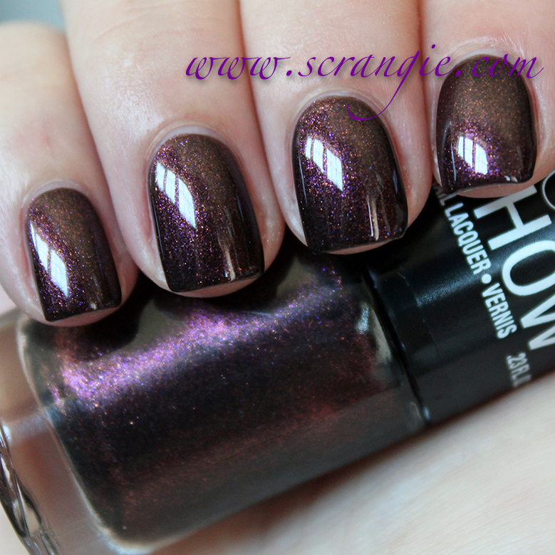 new maybelline color show nail lacquer collection swatches and review - Vernis Color Show