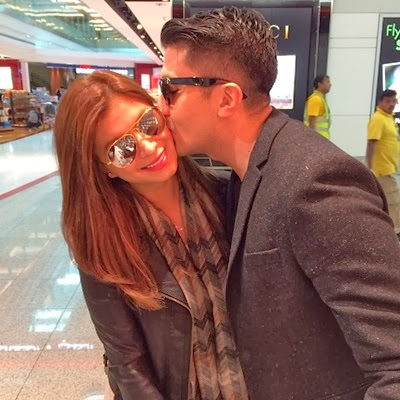 Angel Locsin and Luis Manzano Kiss in Dubai
