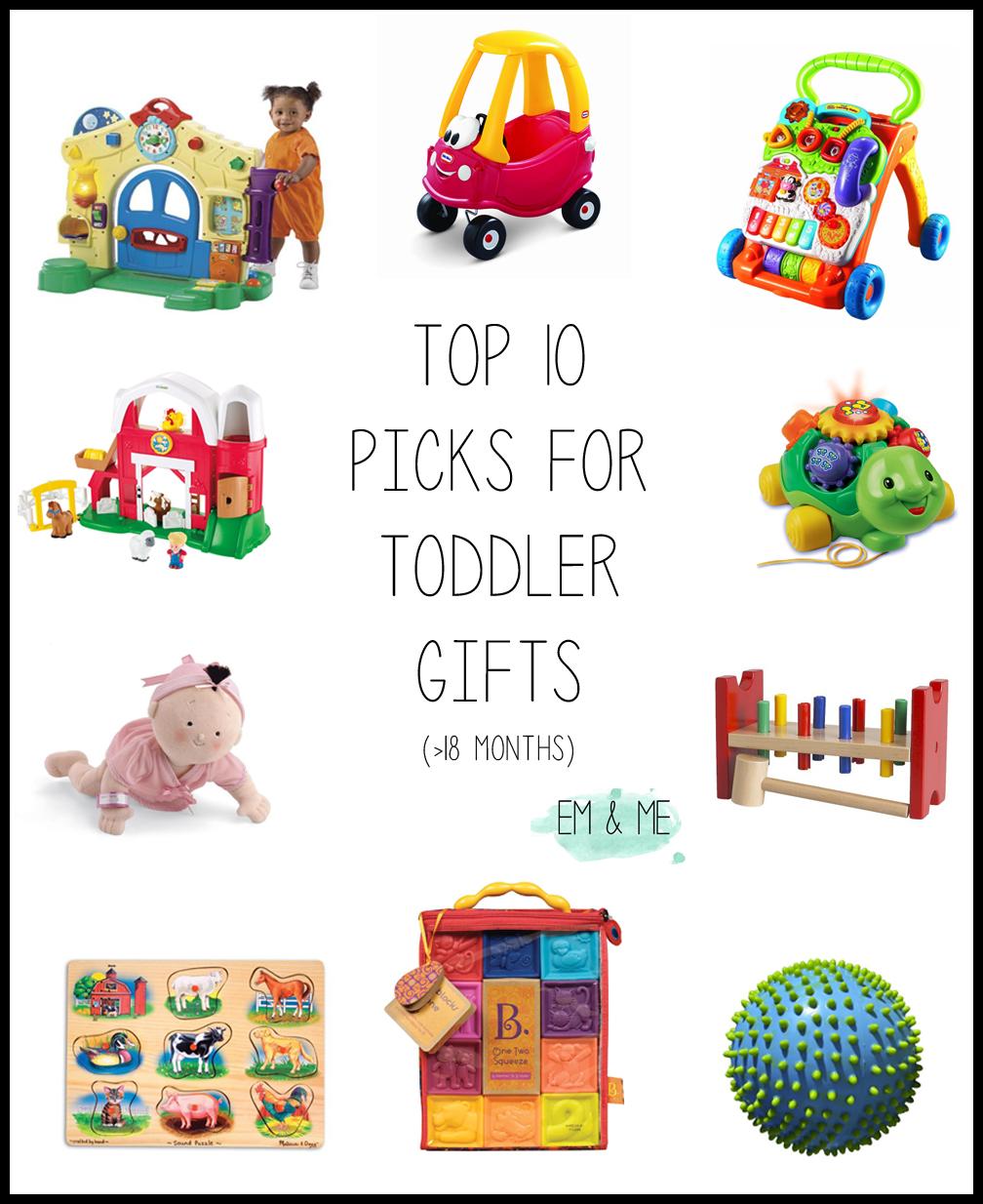 em & me: Mama Monday: Top 10 picks for toddler christmas gifts