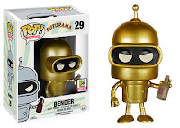 Funko Pop! Gold Bender