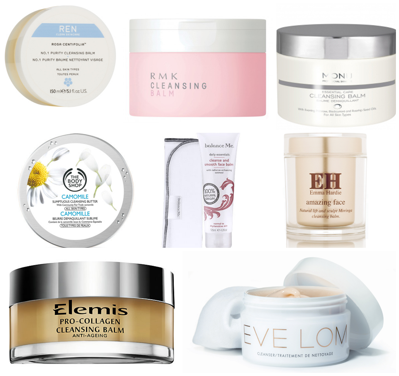 cleansing balm face