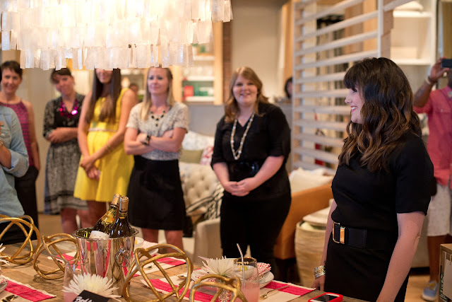 Best Friends for Frosting Relaunch Part at West Elm Roseville