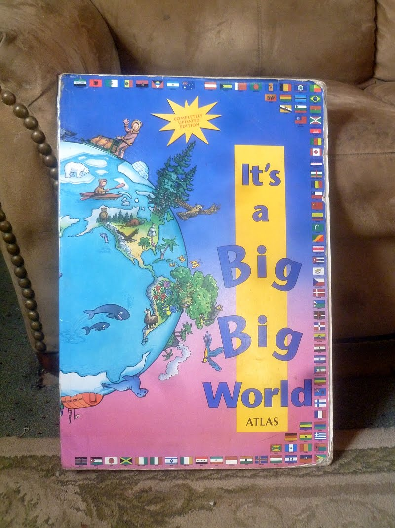 Rural revolution our homeschooling resources we started with this oversized childrens atlas bought at a library sale when they were toddlers its been very useful and still is when we need a big gumiabroncs Image collections