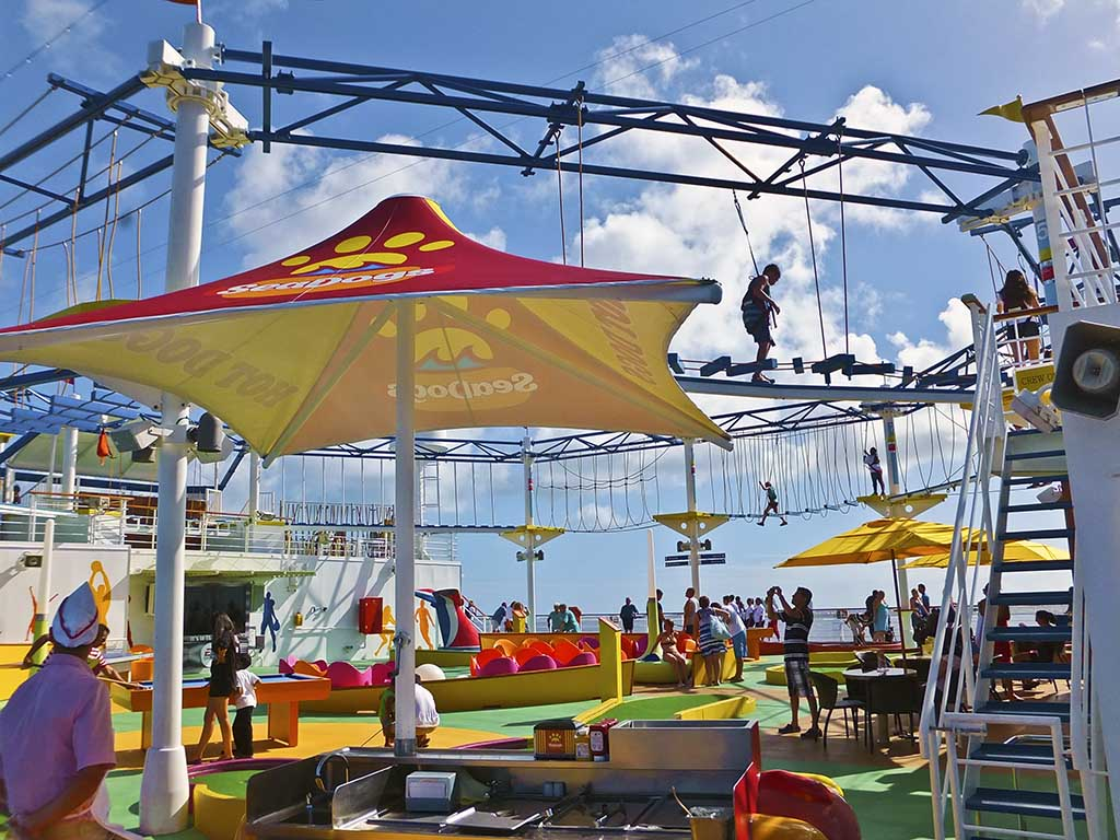 ray s cruise blog carnival breeze bc6 cruise ropes course hot dog stand carnival breeze
