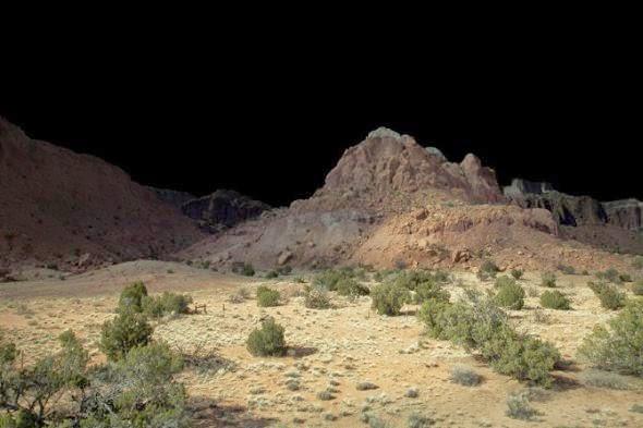 Amelia Bauer fotografia natureza paisagens noturnas misteriosas luzes sobrenaturais