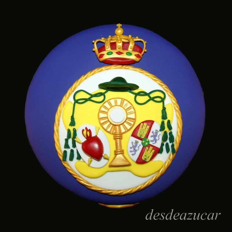 Los Gitanos, Hermandad de los Gitanos, Hermandad de los Gitanos de Sevilla, tarta fondant Sevilla