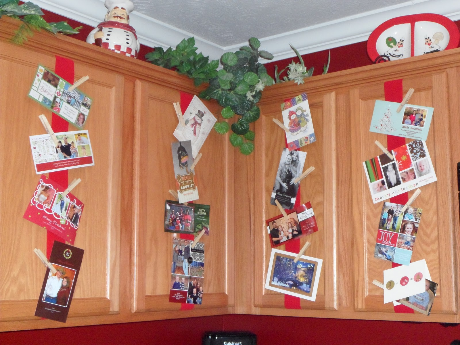 Beyond Blessed: Christmas Card Displays