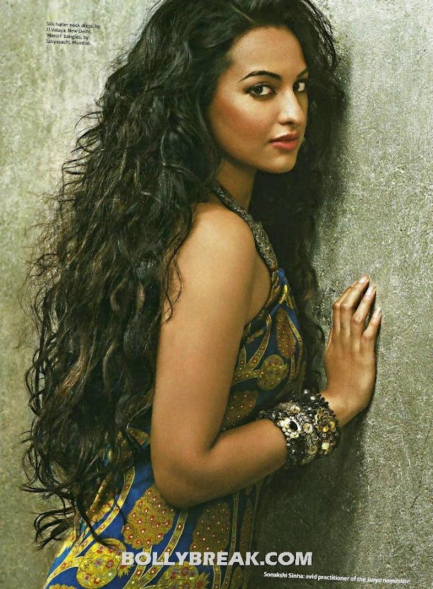 Sonakshi Sinha Long Curly Hair Pic - Verve India Scan - (3) - Sonakshi Sinha Verve India Scans - July 2012 HD