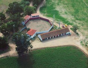 Quinta de Miranda a que o painel de azulejos fáz referência
