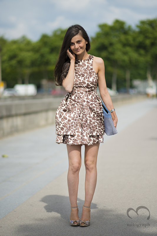 mitograph Natalia Alaverdian Before Dior Paris Haute Couture Fashion Week 2013 2014 Fall Winter PFW Street Style Shimpei Mito